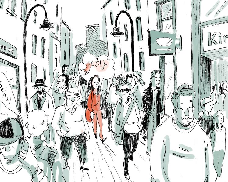 """Was bedeutet eigentlich """"mit Migrationshintergrund""""? Mit diesem Thema beschäftigt sich die comic Reihe aus dem Leben. Blickwinkel - Mut zur Perspektive"""