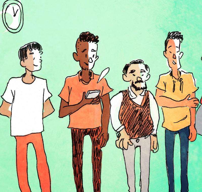 comic über kulturelle unterschiede zwischen syrern und oesterreichern