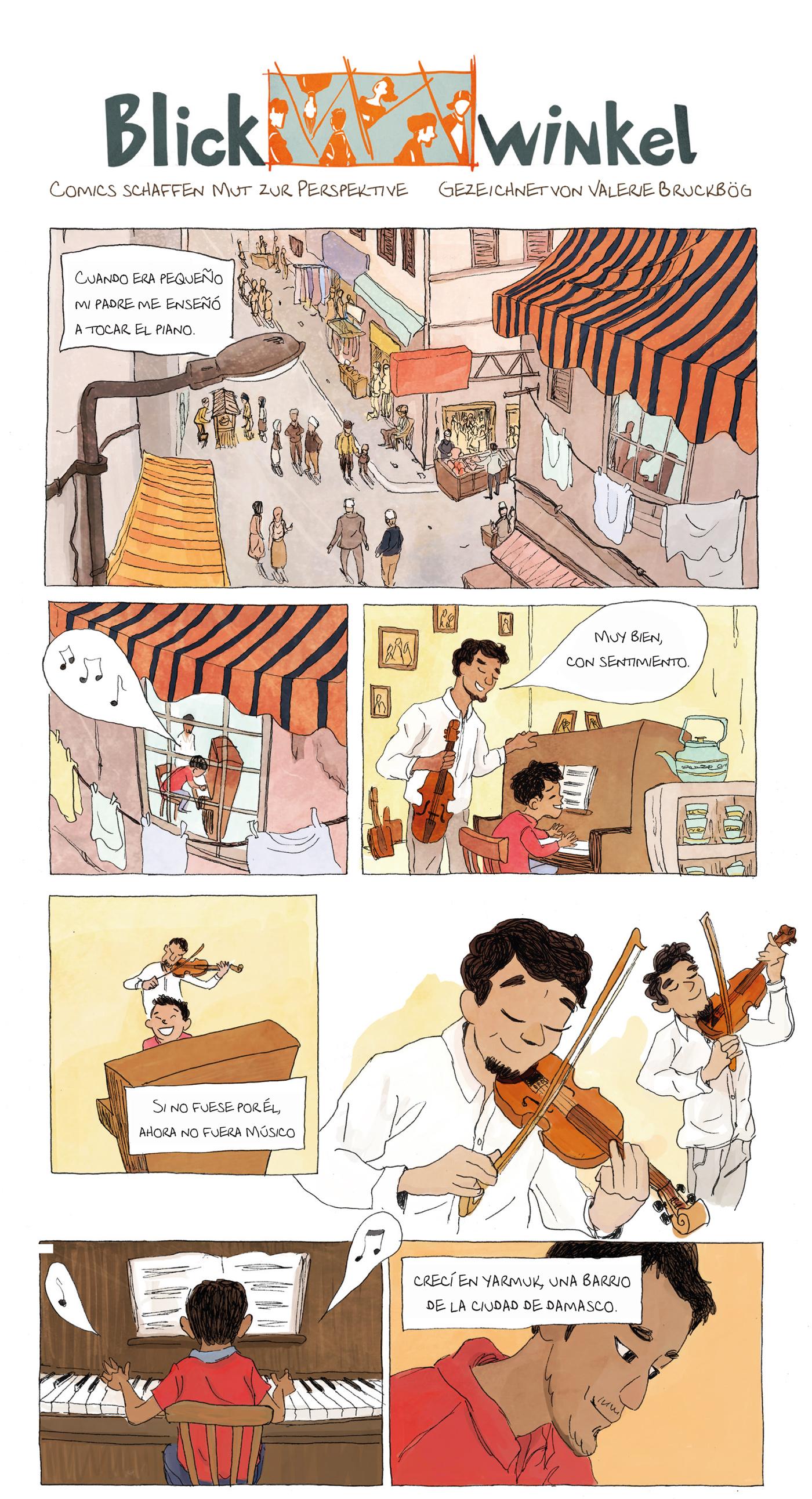 comicprojekt, aeham ahmed, blickwinkel,
