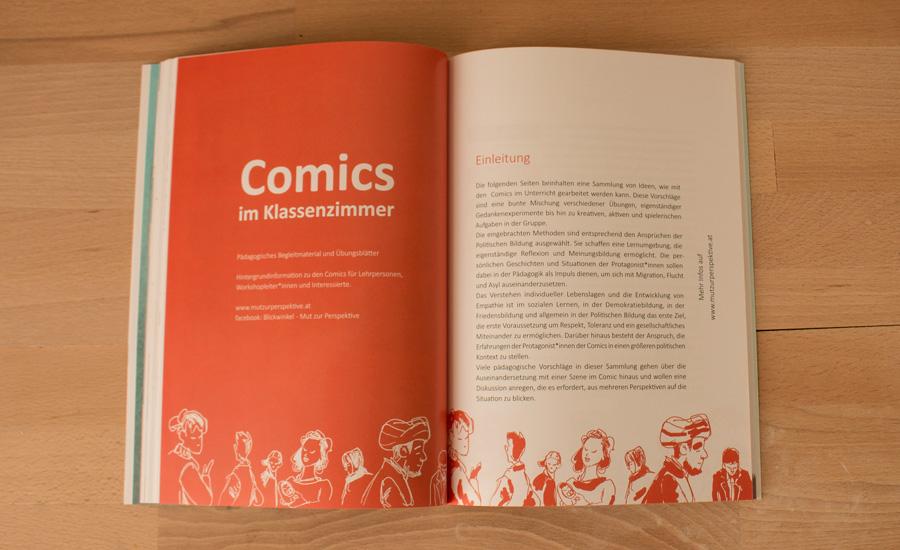 Comics im Klassenzimmer für Themen wie Toleranz und Respekt